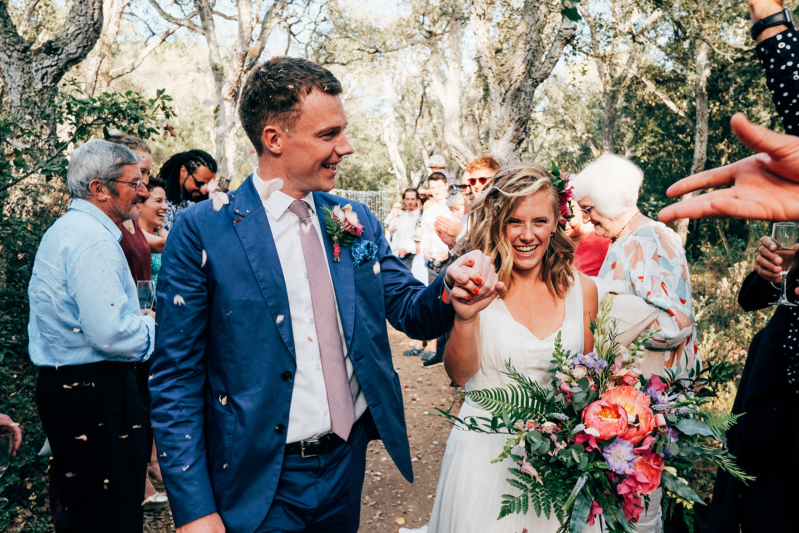 Costa Brava destination wedding with Abelia i Mel florals